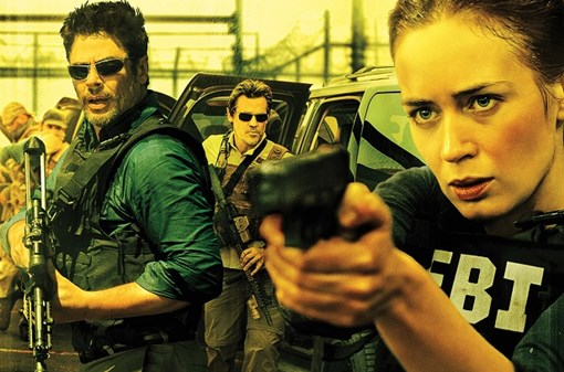 Basement movie: Sicario