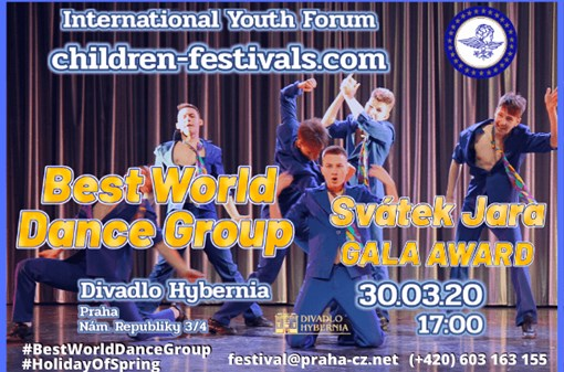 Best World Dance Group gala award - Svátek Jara