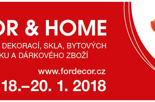 FOR DECOR & HOME – leden 2020